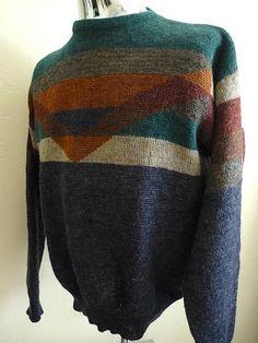 Vintage Apparel Men's 80's Sweater Pendleton by Freshandswanky, $30.00