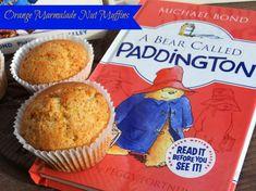 Orange Marmalade Nut Muffins and Paddington Bear