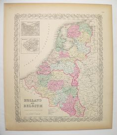 South Holland province of the Netherlands Holland maps