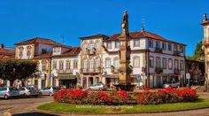 Algumas fotos de Monçao   Turismo en Portugal praça Deuladeu Martins
