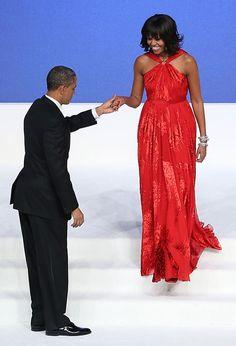 Michelle Obama in Jason Wu | Tom + Lorenzo