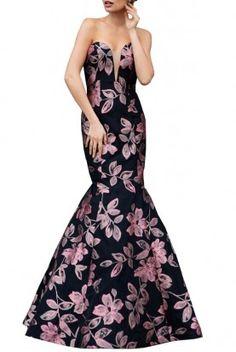 Jovani Mermaid Evening Dress 23814