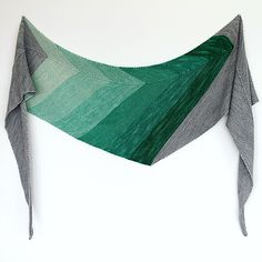 Ravelry: Celadon Shawl by Ambah O'Brien