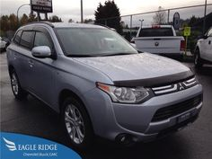 2014 Mitsubishi Outlander SE 4WD V6 Auto 7 Passenger for sale at Eagle Ridge GM in Coquitlam near Vancouver!  http://eagleridgegm.com http://facebook.com/eagleridgegm http://twitter.com/eagleridgegm