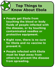 Top Things to Know About Ebola