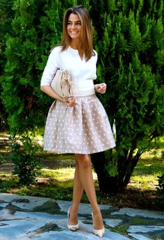 Oh My Looks skirt : Dots / Falda Oh My Looks : Topos
