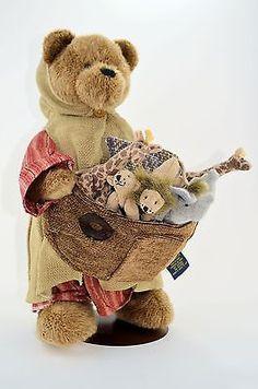 Boyds Bears Plush Mr Noah & Friends 904806 Limited Edition Animals New