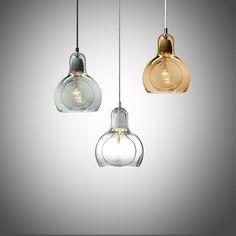 Modern brief glass bulb shape E27 bulb pendant lighting fixture loft creative home deco living room pendant lamp #Affiliate
