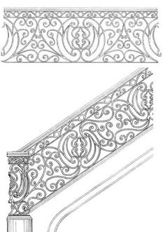 Stair Railing Designs ISR086