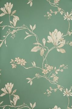 Wonderful vintage wallpaper...