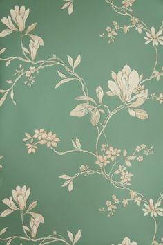 Wonderful vintage wallpaper...