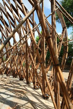 Bamboo Dome cafe wNw By Vo Trong Nghia – 12 | Designalmic