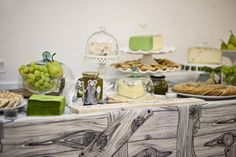 The Olive Dragonfly: Cheese Table