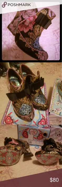 Irregular Choice Lovingly Gazing heels NWB EU37. Irregular choice Shoes Heeled Boots