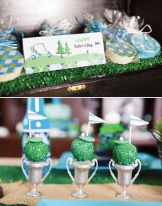 {On the Green} Father's Day Golf PAR-TEE // Hostess with the Mostess®