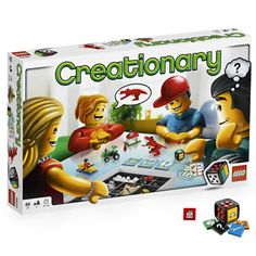 lego and a board game, is there anything better?