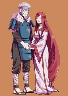 Tobirama Senju and Himeko Uzumaki