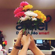 Um brinde de flores para esse ano de 2015que foi finalizado com muita gratidão a todos que fazem parte da família @loja_amei nossas amigas clientes, nossa equipe de trabalho e o nosso cantinho que recebe a gente todos os dias De coração nosso muito obrigado nos vemos em 2016 com muito amor e cor no nosso dia a dia!!! Uma linda véspera de Natal a todos #lojaamei #natal #anonovo #ferias #ultimodia #flores #gratidão #cores #muitoamor #etiquetaamei
