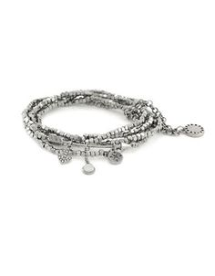 Bcbgeneration Going Your Way Charm Bracelet Women's Silver