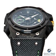 Linde Werdelin Spidolite II Tech Green dial