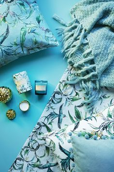 Our go-to colour for an instant interior update? Hello turquoise!   H&M Home