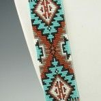 Navajo Beaded Necklace by Rena Charles