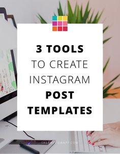 Apps & websites your can use to make templates for Instagram posts. Placeholders you can use to share on Instagram fast.