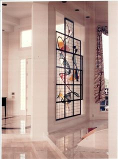 """Stained Glass Partitions with the """"Wow"""" Factor! by Art Glass Environments, Inc."""