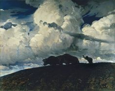 Ziemia, 1898 Ferdynand Ruszczyc (1870-1936) Muzeum Narodowe w Warszawie / Galerie / Galerie stałe / Galeria Sztuki XIX Wieku