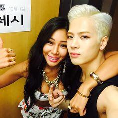 [Eng Sub] Jackson & Jessi Got7 Jackson, Jackson Wang, Jessi Kpop, Nova Jersey, Kpop Rappers, Hyuna, Girls Run The World, Hip Hop, Korean American