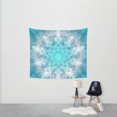 Buy Pastel Snowflake Wall Tapestry by ArtLovePassion. Worldwide shipping available at Society6.com. Just one of millions of high quality products available.