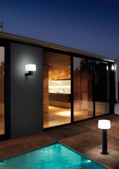 Outdoor lights series by Faro