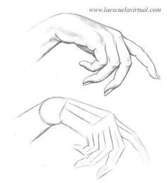 Como dibujar las manos pasrte 2 tutorial gratis curso online how to draw hands drawing draw dibujo lapiz dedos
