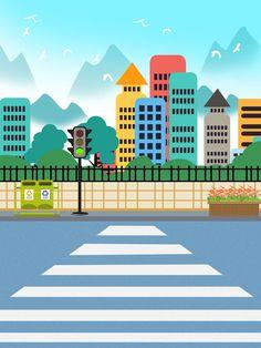 Light Background Design, City Background, Cartoon Background, Lights Background, 2d Character Animation, Animation Storyboard, Powerpoint Background Design, Background Templates, Vector Background