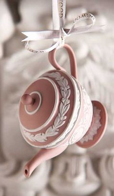 Wedgwood 2014 Iconic Teapot Ornament....inspiration for jewelry