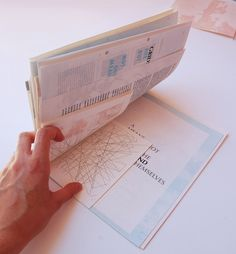 A Perspective on Deconstruction by Mariana Alcobia, via Behance - Editorial / Print / Graphic / Book design