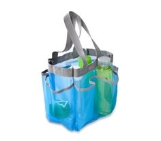 The Fast-Dry Community Shower Tote - (Available in 2 Colors) is a product for college dorms that's a useful essential for college. This tote for showering will be the perfect dorm caddy and caddy for college. Cheap shower caddies are on college checklists