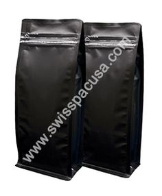 We manufacture our #12oz_340g #Matt_Black #Flat_BlockBottomBags #WithTearZipper utilizing various plastic films, so our pouches are highly durable in nature.