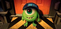 """The cutest picture of young Mike Wazowski you'll see all day. """"Monsters University,"""" via Pixar Disney Pixar, Walt Disney, Disney E Dreamworks, Disney Monsters, Cute Disney, Disney Magic, Monsters Ink, Pixar Movies, Disney Movies"""
