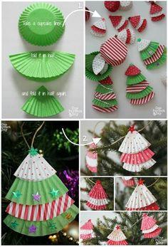 Cupcake liner Christmas