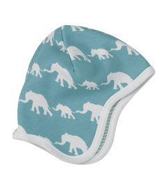Pigeon Organics bonnet - Blue elephant
