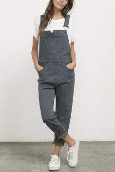 98e36dbd3550 Jean Overalls, Overalls Outfit, Overalls Women, Dungarees, Loose Jeans,  Loose Fit