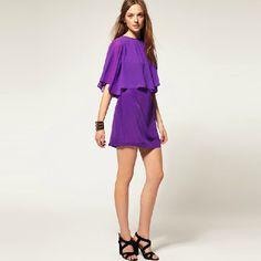 Simple Founced Edge Charmming One-piece Dress- wendybox.com