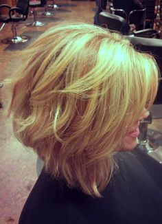 Medium Angled Bob Haircuts In 2020 the Angled Bob Hairstyle Cyndi Spivey Of 96 Awesome Medium Angled Bob Haircuts In 2020 Short Haircuts 2014, Angled Bob Haircuts, Wavy Bob Hairstyles, Trendy Haircuts, Layered Haircuts, Formal Hairstyles, Wedding Hairstyles, Blonde Pixie, Hair Styles 2014