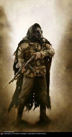 stalker by Tsvetomir Georgiev | 2D | CGSociety