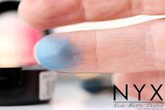 """Nyx Nude matte shadow en teinte voyeur.  Retrouvez ma revue complète sur mon blog beauté """"Needs and Moods"""" : http://www.needsandmoods.com/nyx-nude-matte-shadow/  @nyxcosmetics @nyxcosmeticsfr #nyx #ombres #paupières #fards #maquillage #makeup #revue #review #beauté #blog #beauty #blogger #bloggers #shadow #shadows #eyeshadow #eye #eyes #eyeshadows #nude #matte #blue #bleu #ardoise #couleur #couleurs #cruelty #free #leaping #bunny"""