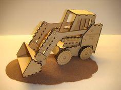 Wooden Bobcat Toy