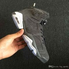 349d51e45d6ca8 2018 New Men 6 VI Basketball Shoes suede Gray 6s Mens Sneakers Athletic  Trainers Man Basket