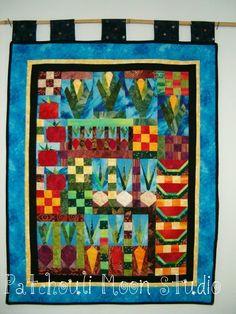 Vegetable and Fruit Garden quilt