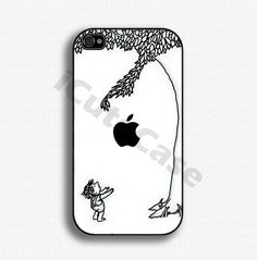 iPhone 4 case iPhone 4s case iPhone case iPhone Hard case for Apple iPhone 4 - Apple tree. $14.99, via Etsy.    How cute